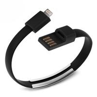 Codegen Apple iPhone iPad Lightning Siyah Bileklik Şarj Data Kablosu CDG-CNV58