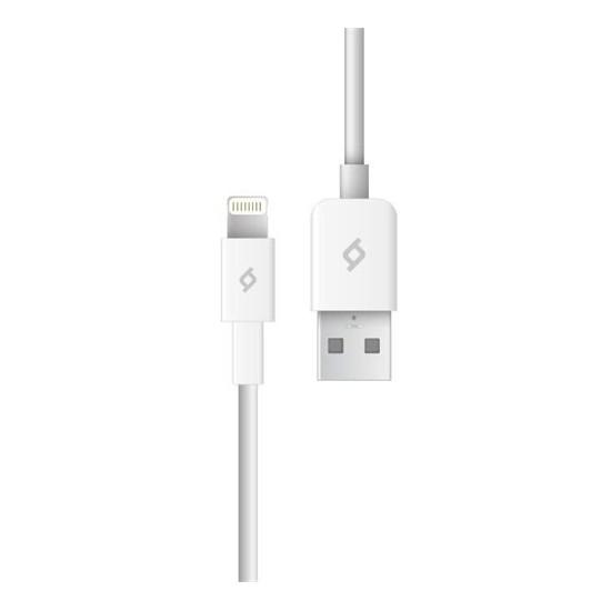 Ttec iPhone MFI Apple Lisanslı Şarj ve Data Kablosu Beyaz 2DKM01B