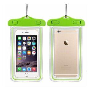 Signor Hobby İphone 6 6S Su Geçirmez Telefon Kılıfı 5 Renk Su Altı Video Fotoğraf Yeşil