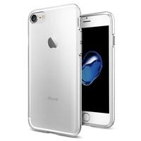 Spigen Apple iPhone SE 2020 / iPhone 8 / iPhone 7 Kılıf Liquid Crystal 4 Tarafı Tam Koruma Crystal Clear - 042CS20435