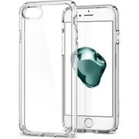 Spigen Apple iPhone SE 2020 / iPhone 8 / iPhone 7 Kılıf Ultra Hybrid 2 Crystal Clear - 042CS20927