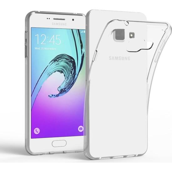 Case 4U Samsung Galaxy A7 2016 Kılıf Ultra İnce Silikon Şeffaf