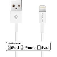 Spigen Essential Apple Lightning Şarj ve Data Kablo (1 Metre) MFI Lisanslı Made For Apple C10LS - SGP11575