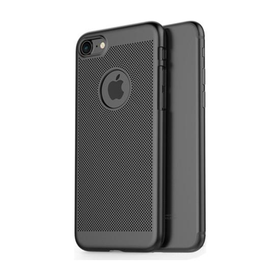 TeknoArea Apple iPhone 7 vent hole rubber kılıf