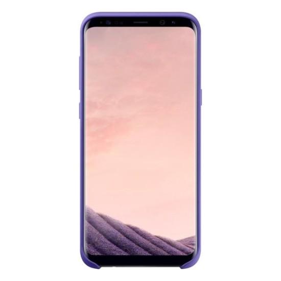 Samsung Galaxy S8 Plus Silikon Kılıf Mor - EF-PG955TVEGWW