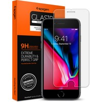 Spigen Apple iPhone 8 / iPhone 7 Cam Ekran Koruyucu GLAS.tR SLIM HD - 042GL20607