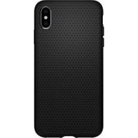 Spigen Apple iPhone XS Max Kılıf Liquid Air Matte Black - 065CS25126