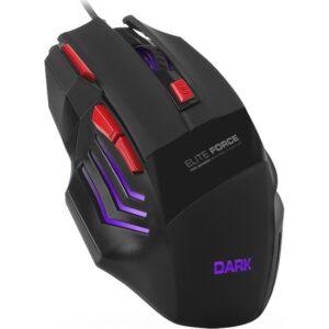 Dark Elite Force 3X Ateş Butonlu DPI Ayarlanabilir Aydınlatmalı USB Oyuncu Mouse (DK-AC-GM1000)