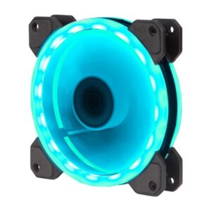 Xigmatek CH120x120x25 mm Gökkuşağı RGB 1200rpm Kasa Fanı