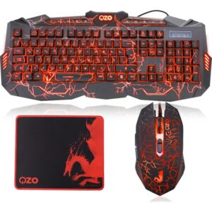 OZO Red Dragon S900 Oyuncu Klavye, Mouse & Mouse Pad