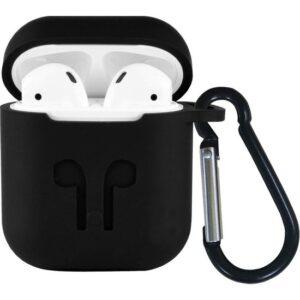 Makt Apple Airpods Silikon Kılıf ve Kulaklık Askısı