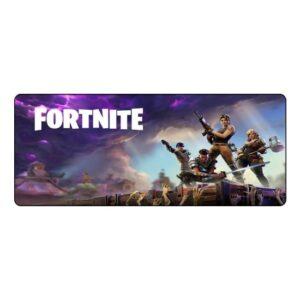 Appa Fortnite 2 Oyuncu Mouse Pad 70 x 30 cm Kaymaz Dikişli Mousepad