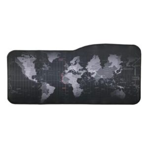 Appa Dünya 1 Oyuncu Mouse Pad 75 x 35 cm Kaymaz Dikişli Mousepad