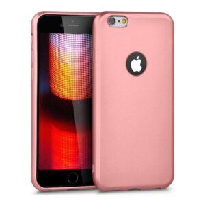 RedClick Apple iPhone 6S / 6 Ultra Slim Yumuşak Premier Silikon Kılıf - Rose Gold