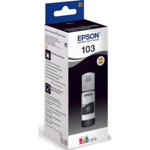 Epson 103 L3110/L3111/L3150/L3151 65 ml Siyah Mürekkep Kartuşu