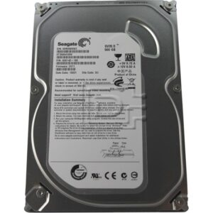 Seagate SV35.5 500GB SATA/300 7200RPM 16MB Sabit Disk ST3500410SV İthalatçı Garantili