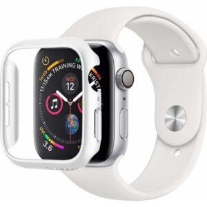 Spigen Apple Watch Seri 6/SE/5/4 (44mm) ile Uyumlu Kılıf Thin Fit White - 062CS24475