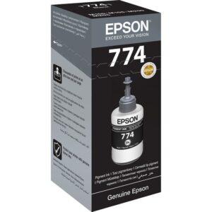 Epson T7741 M100-M105-M200-L655 Siyah Mürekkep 6K