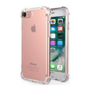 Aksesuarkolic Apple iPhone 6 / 6s Ultra İnce Şeffaf Airbag Anti Şok Silikon Kılıf - Şeffaf