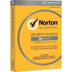 Norton Security Premium 3.0 10 Cihaz 3 Yıl