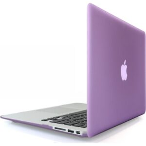 """Codegen Apple 13"""" Macbook Air A1466 A1369 Mor Kılıf Koruyucu Kapak CMA-133PU"""