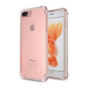 Zengin Çarşım Apple iPhone 7 - 8 Plus Ultra İnce Şeffaf Airbag Anti Şok Silikon Kılıf - Şeffaf
