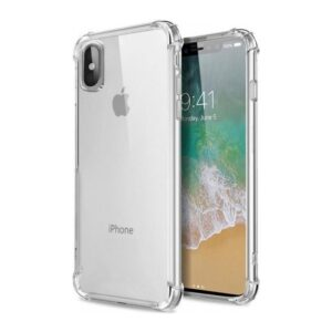 Zengin Çarşım Apple iPhone X - XS Ultra İnce Şeffaf Airbag Anti Şok Silikon Kılıf - Şeffaf