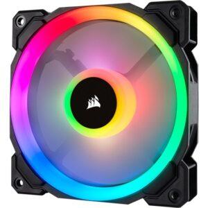 Corsair CO-9050071-WW LL120 RGB 120mm Dual Light Loop RGB LED PWM Single Kasa Fanı