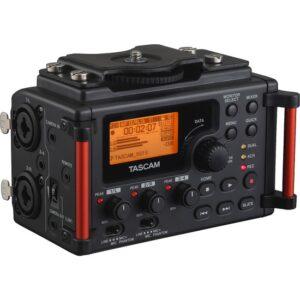 Tascam DR 60DMKII DSLR Kameralar için Taşınabilir Stereo Ses Kayıt Cihazı