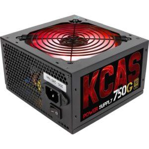 Aerocool KCAS 750W 12cm RGB Led Fan 80+ Gold Power Supply (AE-KCAS750RGB)