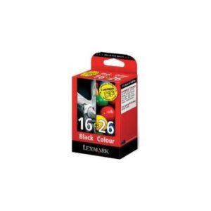 Lexmark 0080D2126 Siyah+Renkli Kartuş 16+26