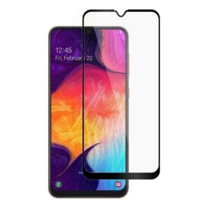 Online Samsung Galaxy A30 5D Tam Kaplayan Ekran Koruyucu Cam