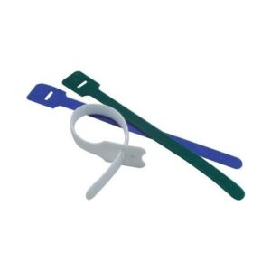 Excel Hook & Loop Cable Tie - Pack Of 20 – Black 180-078 230 mm