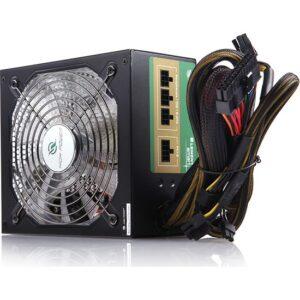 High Power 650W 80+ Bronze Modüler Mavi Ledli Güç Kaynağı (HP-EP-650S)