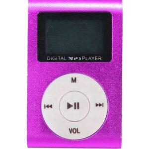 Newnet Dijital Ekranlı Mp3 Player - Mor