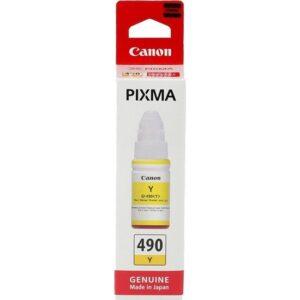 Canon Gı-490Y Sarı Kartuş G1400-G2400-G34007.000 Sayfa