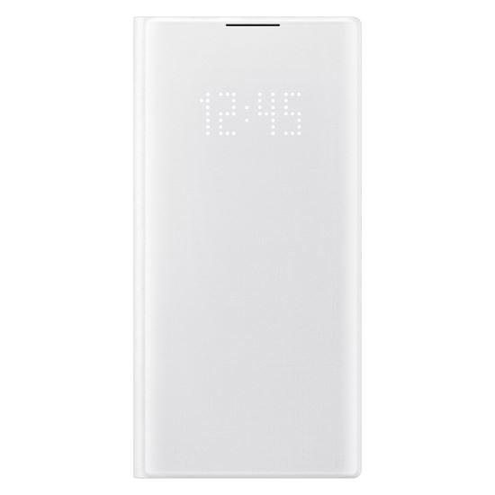Samsung Galaxy Note 10 Beyaz LED View Kılıf-(EF-NN970PWEGTR)