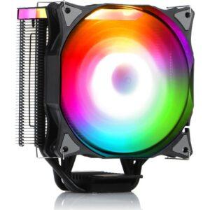 Dark Freezer X126, 12cm Adreslenebilir RGB LED'li Intel & AMD Uyumlu 4pin PWM Fanlı Direkt Kontak İşlemci Soğutucu (DKCCX126)
