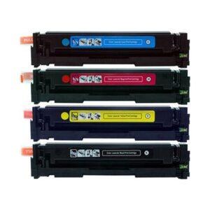 Yüzde Yüz Toner Hp CF400A / CF401A / CF402A / CF403A Takım Muadil Toner 201A