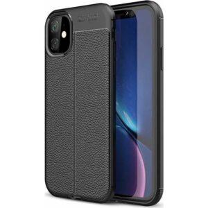 Case 4U Apple iPhone 11 Kılıf Darbeye Dayanıklı Niss Arka Kapak Siyah