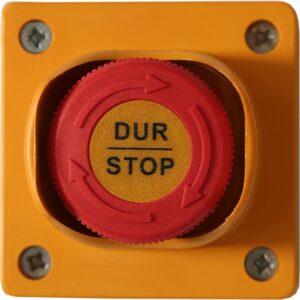 Sinaider Kutulu Mantar Stop - Kutulu Acil Stop Butonu - Acil Durdurma