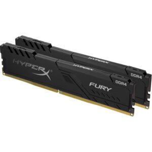 Kingston 16GB 3200MHZ Ddr4 CL16 Dımm (Kıt Of 2) Hyperx Fury Black Serısı HX432C16FB3K2/16