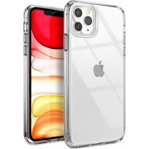 Case 4U Apple iPhone 11 Pro Max Kılıf Süper Silikon Arka Kapak Şeffaf