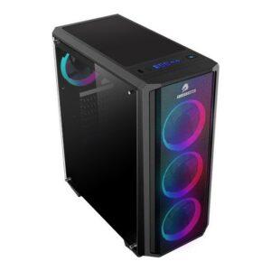 Gamebooster GB-G3030B USB 3.0 Atx Mesh Sıngle Rıng Raınbow Fan Siyah Kasa (Psu Yok)