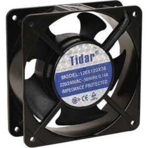 Tidar 220 Vac 220 Volt 120 mm Fan