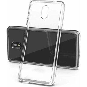 Case 4U Xiaomi Redmi 8A Kılıf Süper Silikon Arka Kapak Şeffaf