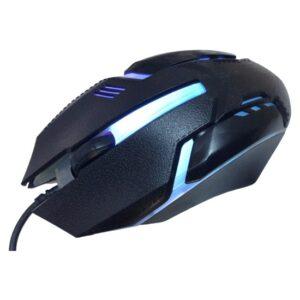 Rider M718 900 Dpi Siyah USB 7renk Işıklı Oyuncu Mouse