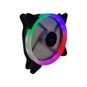 Gametech Gtf-5lf 12 cm 5 Renk Sessiz Rainbow Kasa Fanı