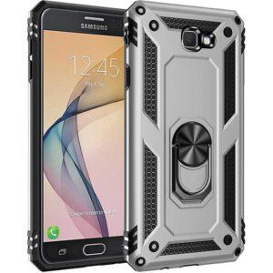 Zore Samsung Galaxy J7 Prime Kılıf Vega Silikon - Gri