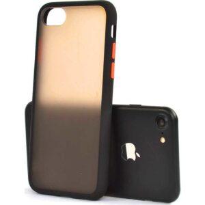 Zore Apple iPhone 7 Kılıf Silikon - Siyah